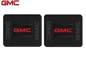 2 PC GMC Elite Rear Rubber Utility Floor Mats Heavy Duty Same Day Shipping