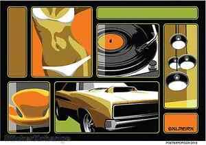 Swingers Lounge Sticker Decal Artist Marco Almera MA47