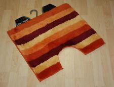 Tappeto da bagno striscia tappeto WC 50x55 cm arancione