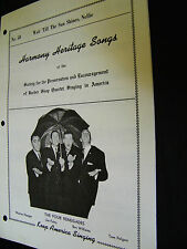 SHEET MUSIC HARMONY HERITAGE SONGS WAIT TILL THE SUN SHINES, NELLIE