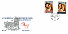 22 JULY 1986 ROYAL WEDDING PHILART FIRST DAY COVER HOUSE OF LORDS SW1 CDS