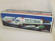HESS TRUCK - 1997 Truck and Two Racers - New Never Opened