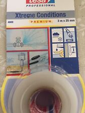 Tesa 4600 Self Amalgamating Tape For Extreme Conditions, 25mm X 3M - Transparent