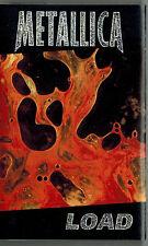 MFD IN CANADA 1996 HARD ROCK CASSETTE TAPE METALLICA : LOAD