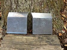 "LOG SPLITTER WEDGE WINGS 6"" WELDABLE SET Sharp On One Side 3/4"" THICK  A36!!!!"