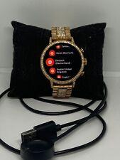 Fossil Gen 4 FTW6011 Women's Stainless Steel Digital Dial Smart Watch NA308