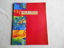 Programme Beatles Paul Mc Cartney remis Paris Bercy 93