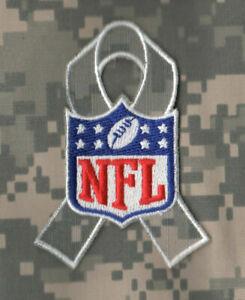 NFL Salut À Militaire Service Patch : Camouflage Acu Numérique Repasser Ruban