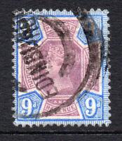 Great Britain Victoria 9d c1887-92 Used Stamp (2995)