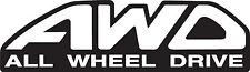 AWD All Wheel Drive Decal Sticker Car subaru JDM Drift Hoon Turbo Stance WRX EVO