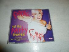 PINK - Get The Party Started - 2002 UK 4-track enhanced CD single