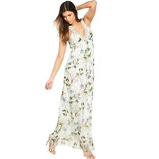 BNWT Guess Delcy Maxi Dress in Desert Mirage Natural Size L  UK 10-12