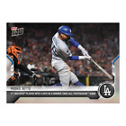 2021 TOPPS NOW #968 MOOKIE BETTS LOS ANGELES DODGERS 4 HITS IN WINNER TAKES ALL