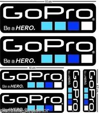 WATERPROOF 6 Gopro Hero5 STICKER Go Pro Accessory Car Motorcycle Decal SALTER