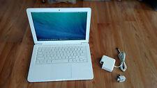 "Apple MacBook Mid 2010 White 13"" a1342. 250GB HDD,2.40GHz. New 8GB Ram MAVERICKS"