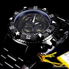 Invicta Reserve Excursion Black Combat Swiss Movt Steel Chronograph Watch New