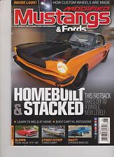 MODIFIED MUSTANGS & FORDS MAGAZINE JUNE 2014.