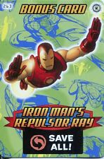 Spiderman Heroes And Villains Card #263 Iron Mans Repulsor Ray