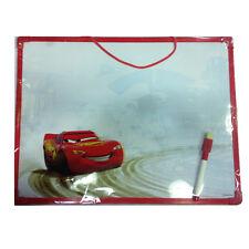 CARS lavagnetta memoboard con pennarello da appendere 30x40 cm da bambino