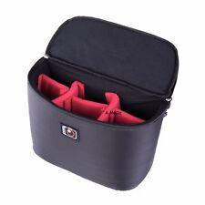 Padded Camera case Bags backpack SLR DSLR Insert Protection nikon canon black