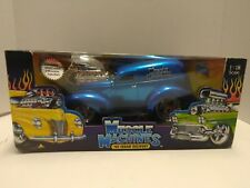 2003 Muscle Machines 1:18 Scale blue '40 Sedan Delivery  New in Box