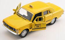BLITZ VERSAND Fiat 125 p TAXI WPT gelb  yellow Welly Modell Auto 1:34 NEU & OVP