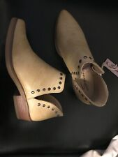Seven7 Womens 6 Antonio Bootie Studded Ankle Boots