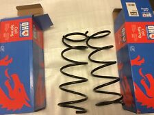 2 audi A4 avant rear coil springs sports suspension models 2001-2008