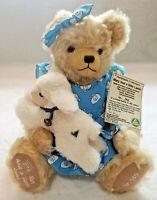 "RARE Hermann Mohair Musical Bear Nursery Rhymes ""Mary Had A Little Lamb"" No 140"