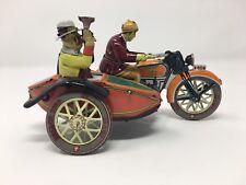 Paya Motorcycle and Sidecar