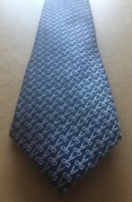 TED BAKER KNOTTED Fancy Woven Tie - BNWT - Scissor Pattern - 100% Silk