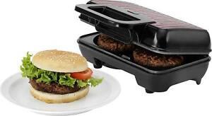 Hamburger-Maker Melissa 16250060 Burger-Bräter Burger Elektro-Burgerpfanne