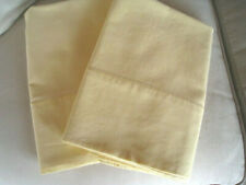 Vintage Ralph Lauren Soft YELLOW KING Size Pair Of 2 Pillowcases USA