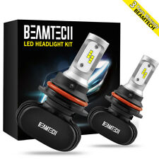 9007 LED Headlight Bulbs HB5 CSP Conversion Kit Dual High Low Beam 8000LM 50W US