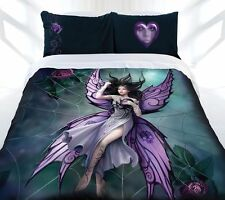 Anne Stokes Silk Lure Fairy Gothic Fantasy QUEEN Size Quilt Doona Cover Set