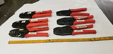 6-Pc Micro Crimper & Other Ratcheting Hand Crimp Tools Assortment