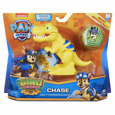 PAW Patrol Dino Rescue Chase Figure and T-rex Dinosaur Ages 3+