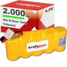AKKU für Bosch SOMFY K8 K10 K12 mit 2000mAH Roll-Lift Easy Ersatz Akku Easy-Lift