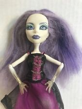 Monster High Ghoul's Alive Spectra Vondergeist Doll Outfit Shoes Used Mattel