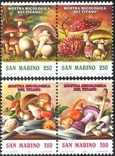 San Marino 1992 Fungi/Mushrooms/Edible/Inedible/Plants/Nature 4v set (n43404)