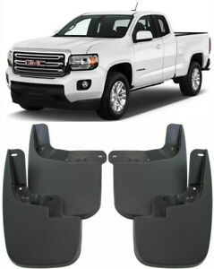 OEM Set Splash Guards Mud Guards Mud Flaps FOR 2015-2021 GMC Canyon No Flares