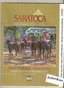 MINT 2006 CIGAR MILE PROGRAM DISCREET CAT STAKES & TRACK RECORD STILL STANDS!