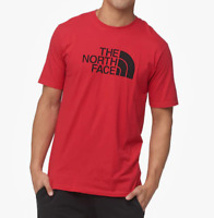 The North Face Mens Half Dome Shirt Red TNF Black Size Medium