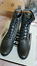 FRYE Veronica Combat NIB boots shoes black US 7