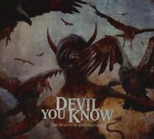 DEVIL YOU KNOW - The Beauty Of Destruction, CD im Digipak