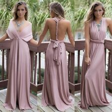 Women Long Formal Bridesmaid Dress Party Gown Prom Evening Dress Pregnant Dress