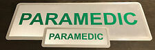 PARAMEDIC REFLECTIVE BADGE PACK - LARGE 300mm x 100mm / Small 135mm x 45mm