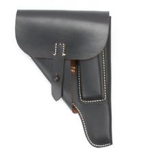 Pistolentasche Leder P38 WKII WH - Softshell/Weich, schwarz