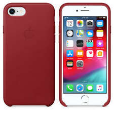 Apple iPhone�8 Leder�Schutzh�lle - rot