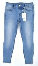 NWT LEVEL 99 Women's Light BELDO Wash Mid-Rise Cropped Skinny Jeans ~ 27P
